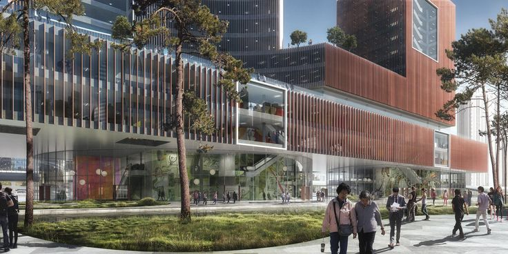 West Shanghai Workers' Cultural Palace, China, Schmidt Hammer Lassen Architects, 2016