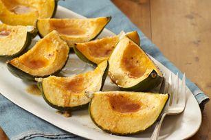 Parmesan-Glazed Acorn Squash recipe