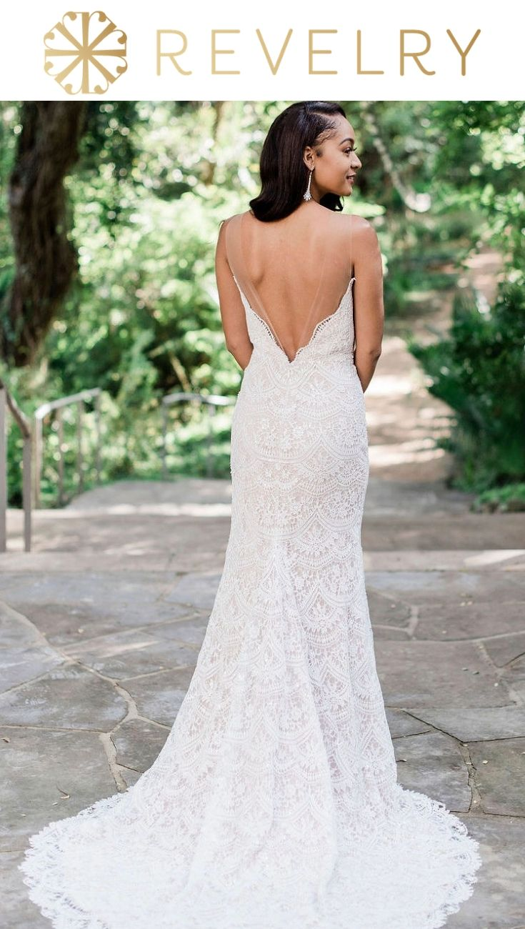 Wedding Dress And Bridesmaid Dress Shopping By Making It Fun And Easy Try On Our Exclusive Gowns On In Yo Racerback Wedding Dress Bridal Gowns Exclusive Gowns