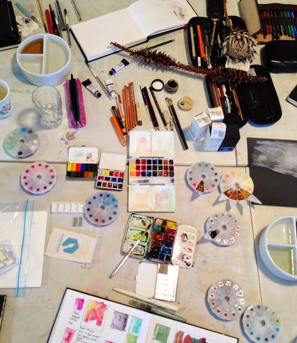 Liz Steel: Colour and palettes....