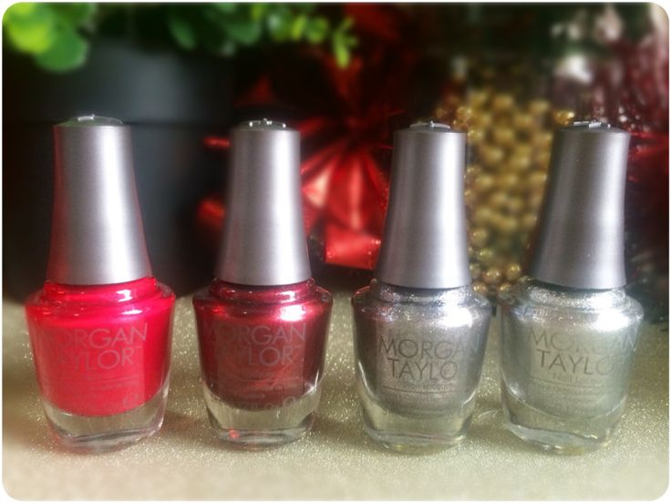 MANICURE MONDAY - Morgan Taylor - Gifted With Style mini Christmas collection