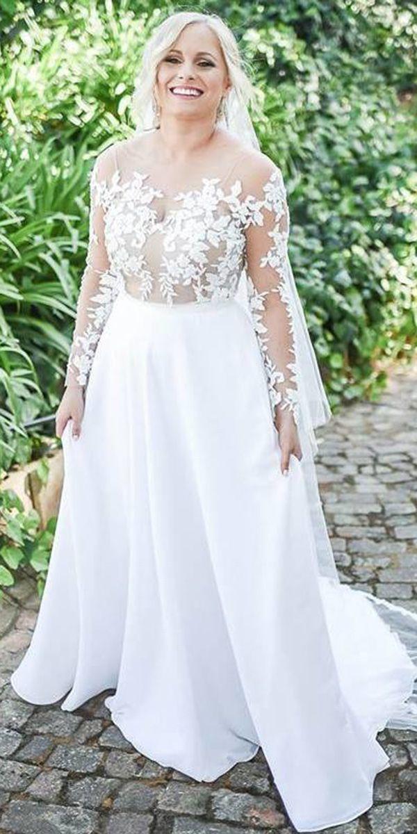 24 Graceful Plus Size Wedding Dresses Plus Size Wedding Dresses