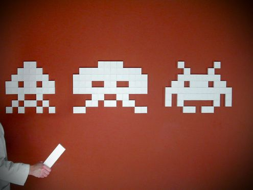 How to: Make 3D Papercraft Space Invaders!Howto Post