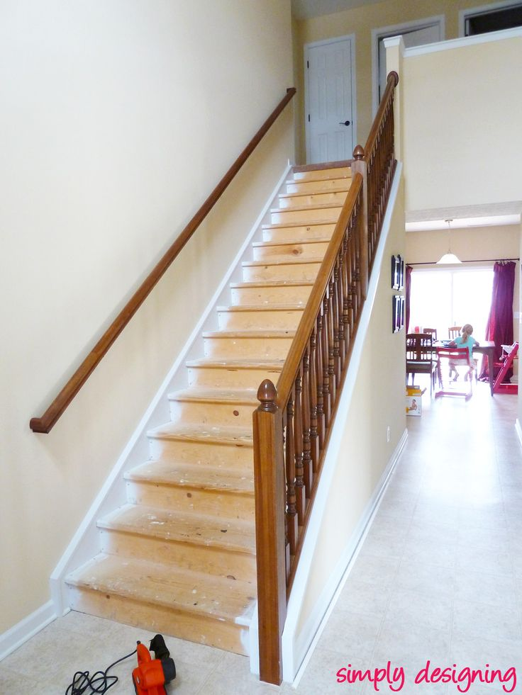 Best 11 Best Refinish Stairs Wood Images On Pinterest 640 x 480