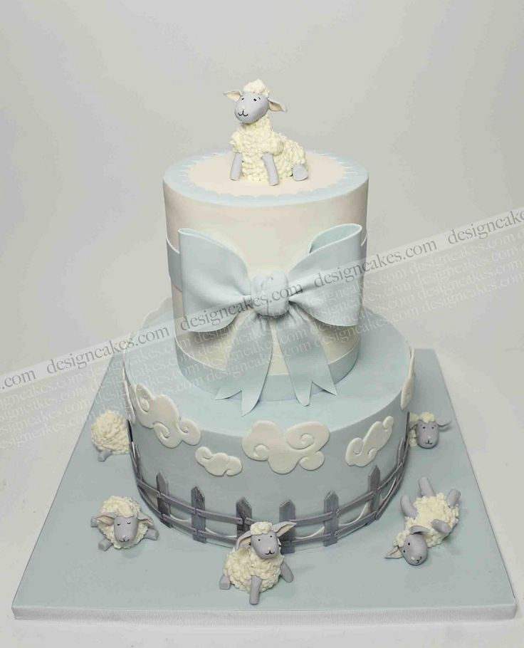 Baby lamb/ sheep cake | by Design Cakes