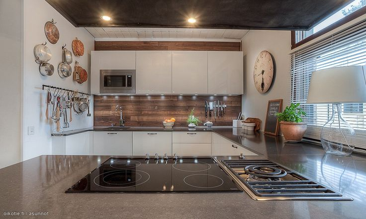 434 best images about Kitchens  Keittiöt  Kök on Pinterest  Black kitchens