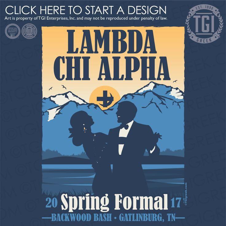 Lambda Chi Alpha | ΛΧΑ | Spring Formal | Backwood Bash | Formal |TGI Greek | Greek Apparel | Custom Apparel | Fraternity Tee Shirts | Fraternity T-shirts | Custom T-Shirts