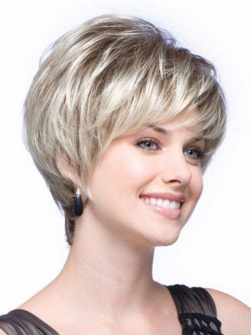 semi-Wedge bob style cortes de cabello