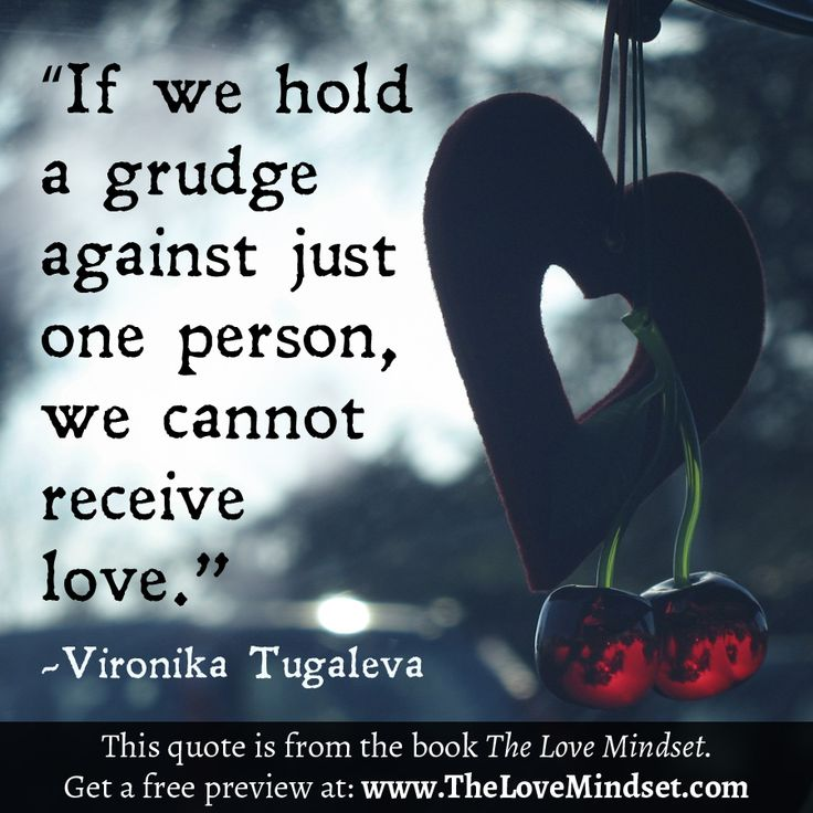 Holding A Grudge: 5 Tips For Letting Go