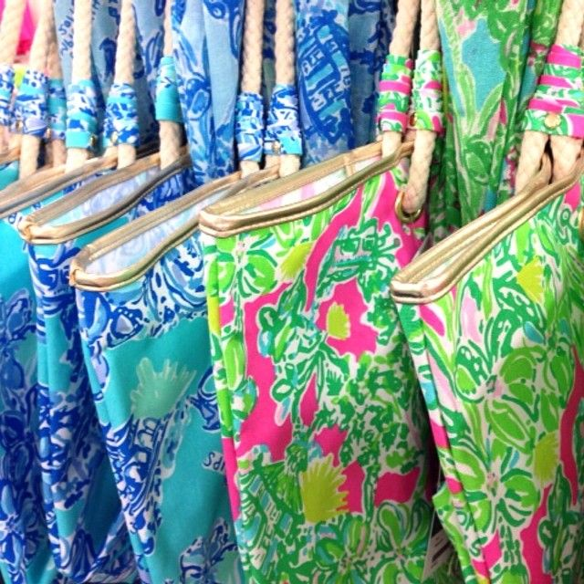 Lilly Pulitzer 2014 US Open Golf Print