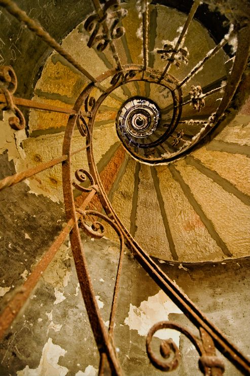 spiral stairs?