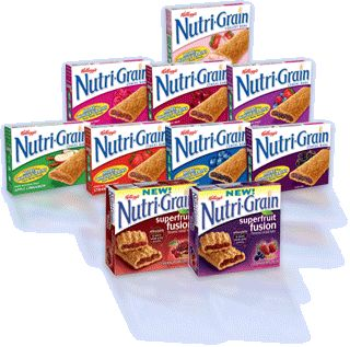 Nutri-Grain bars id bring 1000's with me