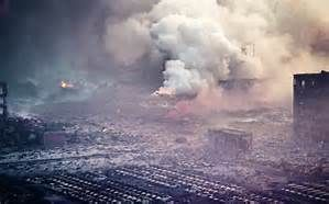 China Bomb Explosion - Bing images