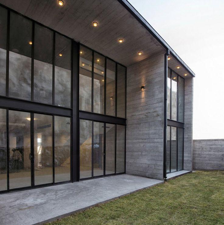 Planos de casa dos pisos de hormigón | Construye Hogar