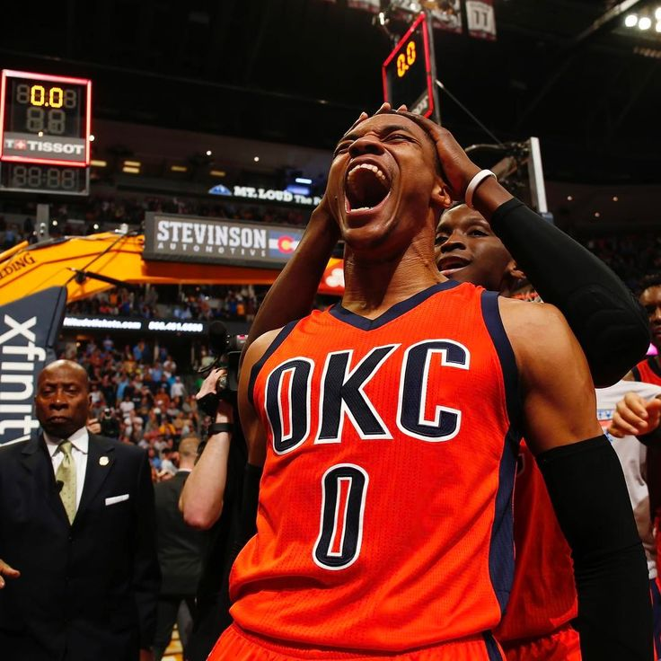 """The look you make when you break records and hit the game winner [Credit: Jack Dempsey/AP Photo]"""""""