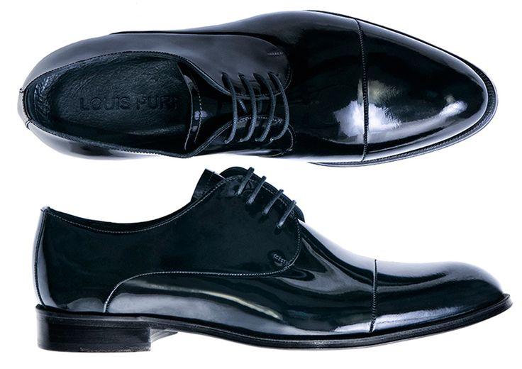 Pantofi Derby de lac - Louis Purple