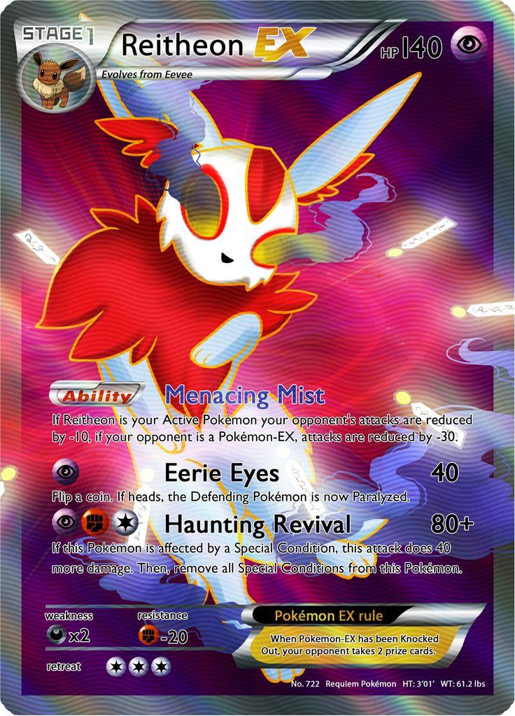Reitheon ex pokemon card by mr savath - Photo pokemon ex ...