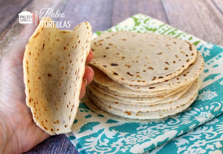 Paleo Tortillas--this one looks promising--no coconut flour (which to me gives a funky taste)