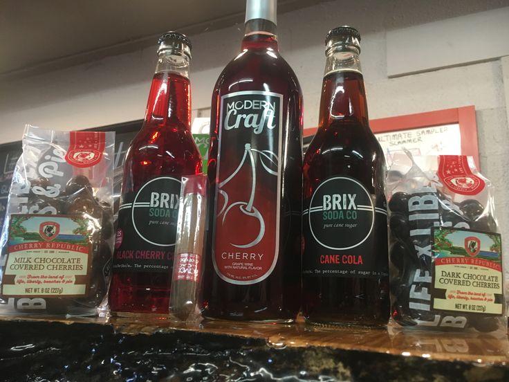 Brix Soda Co + Cherry = #GETINTHEMCMIX 1+1=3
