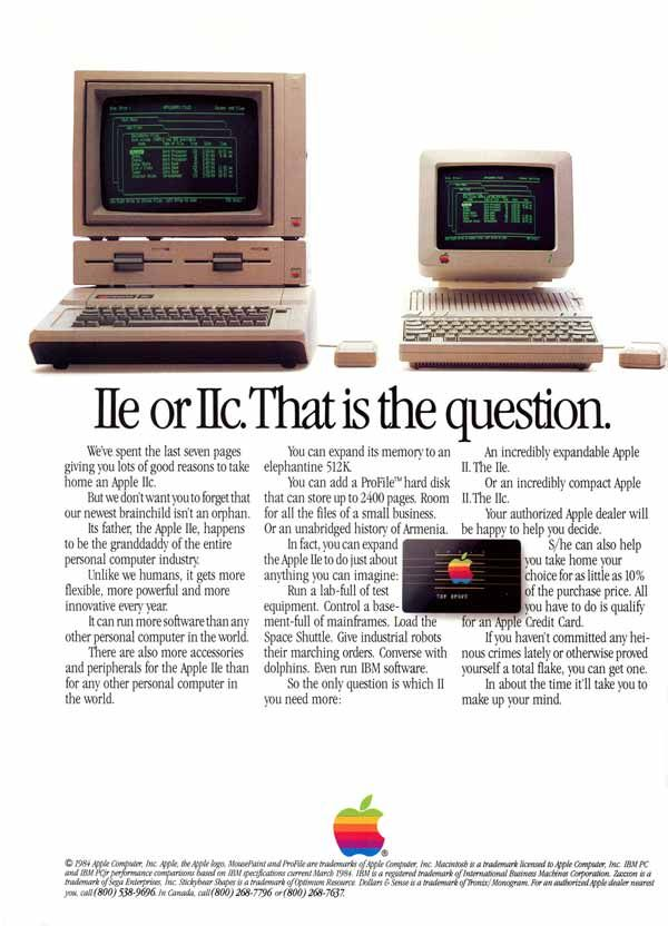 12 Of The Best Apple Print Ads Of All Time [Gallery]