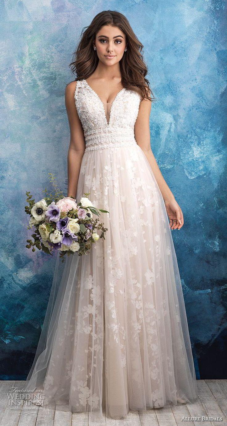 Allure Bridals Fall 2018 Wedding Dresses