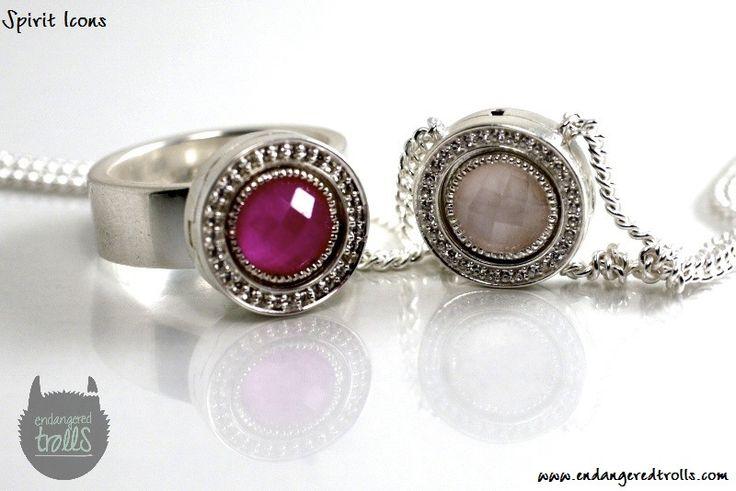 Spirit Icons Rose Quartz Bracelet