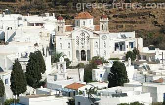 Pyrgos on Tinos Island, village of marble
