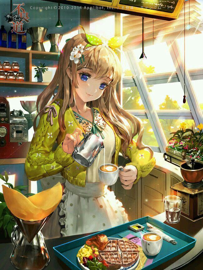 Preparando Café matinal