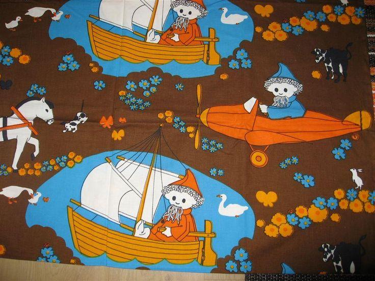 RETRO PÅSLAKAN TILL BARN JOHN BLUND på Tradera.com - Sängkläder för