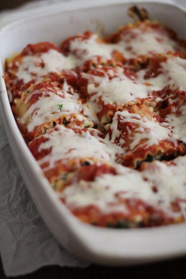 Spinach Lasagna Rolls on Pinterest | Spinach Lasagna, Lasagna Roll Up ...