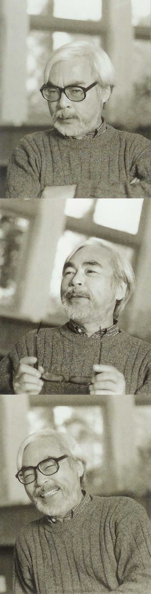 """Hayao Miyazaki ~ One of my heroes. Mr. Miyazaki, a world renowned Japanese animator known for, among others, """"Nausicaa - Warriors Of The Wind"""", """"My Neighbour Totoro"""", """"Castle In The Sky"""", """"Spirited Away"""", """"Kiki's Delivery Service"""", """"Howl's Moving Castle"""", """"Princess Mononoke"""" and """"Ponyo""""."""