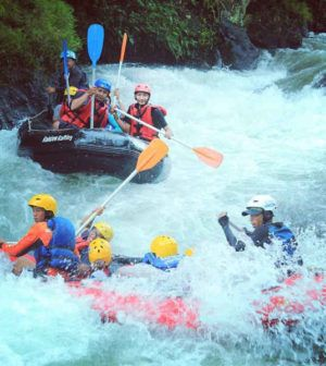 Destinasi Tempat Wisata Arung Jeram Randudongkal Pemalang Jawa Tengah