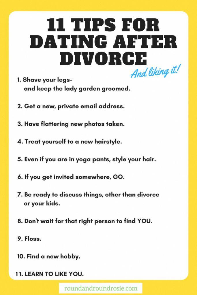 after divorce dating tips