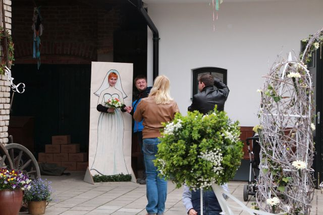 Na svatbě má být veselo - takže nesmí chybět trocha zábavy pro hosty...:)