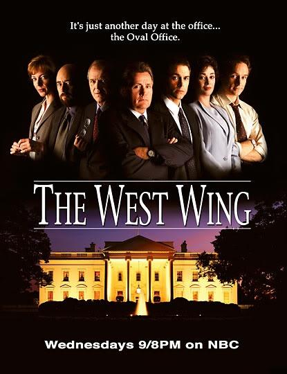 The west wing dukker stadig opp som anbefaling rundt forbi.