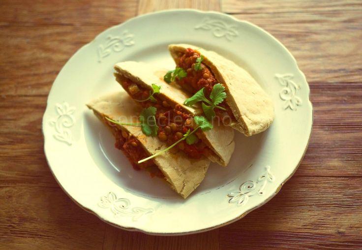 Gluten- og gjærfrie pitabrød