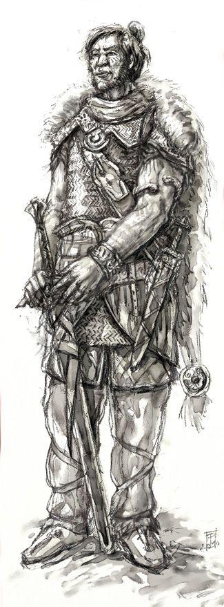 DrDII : Hrun the Barbarian by Merlkir