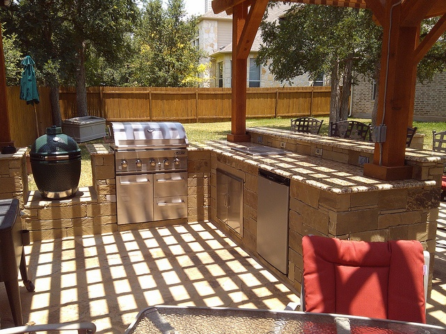 34 best images about outdoor kitchen fireplace on for Texas outdoor kitchen designs