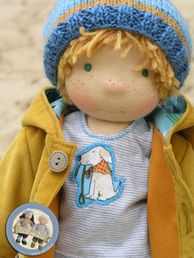 Arthur - waldorf inspired boy doll by Lalinda.pl