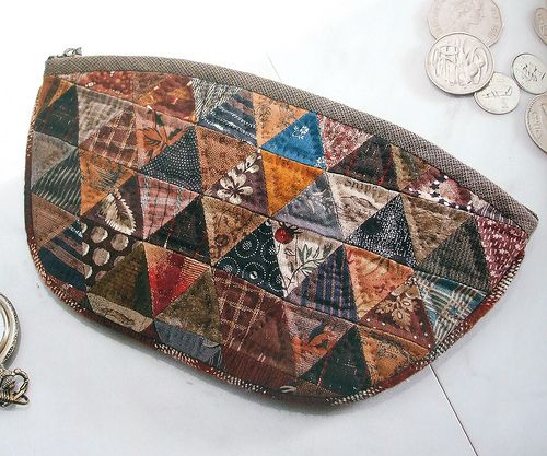 Patchwork purse by Yoko Saito | Photo from her book Daily Qu… | Flickr