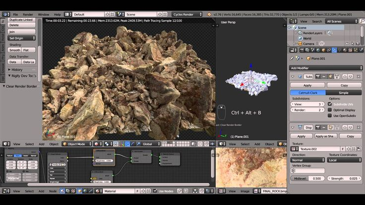 Using a 3d scanned rock model and a realistic texture pack, Soady creates a realistic field full of rocks. This is my very first Blender tutorial. This is a simple and quick process but very effective. You can use many different objects as a group and work on the materials a bit more. The purposeRead More