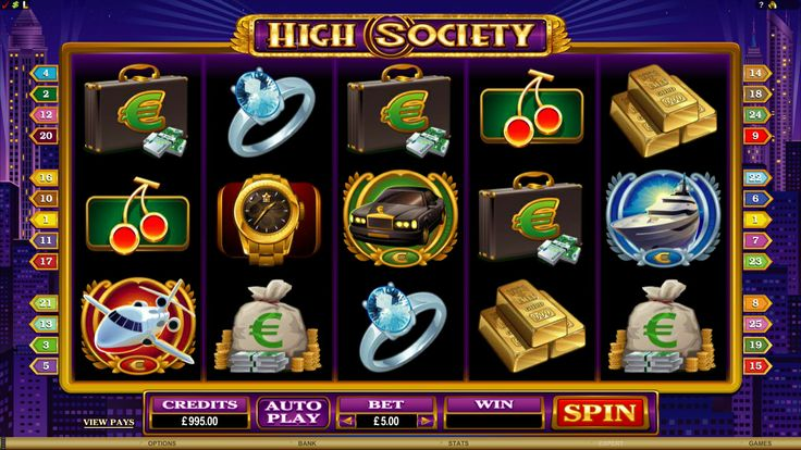 High Society Online Slot Game