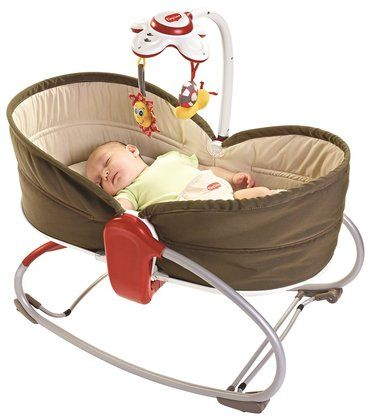 Our first new baby purchase- the Tiny Love 3 in 1 Rocker