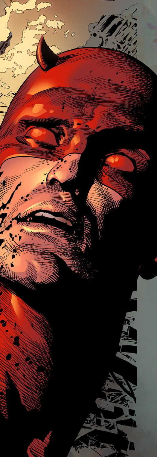 Daredevil by Mike Deodato Jr. Colors by Rain.
