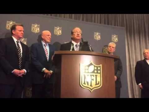 Liked on YouTube: Dean Spanos Mark Davis Stan Kronke On NFL LA Relocation