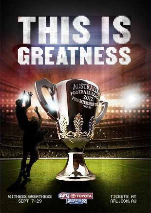 AFL Finals Melbourne - a huge spectacle, the excitement and the atmosphere