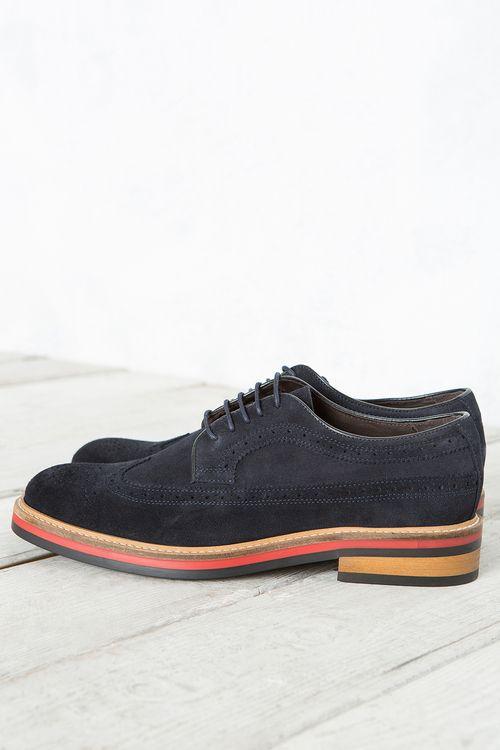 Zapato Blucher Serraje   Zapatos de Hombre en Cortefiel