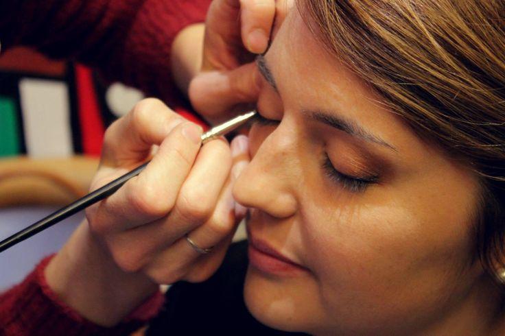 Préparatifs mariée maquillage