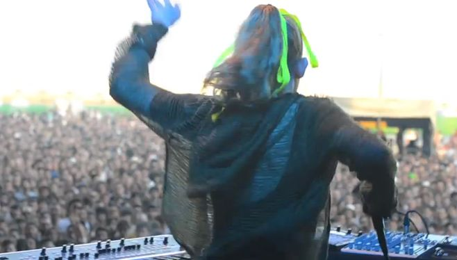 Watch: Grimes at Primavera Sound Festival   News   Pitchfork