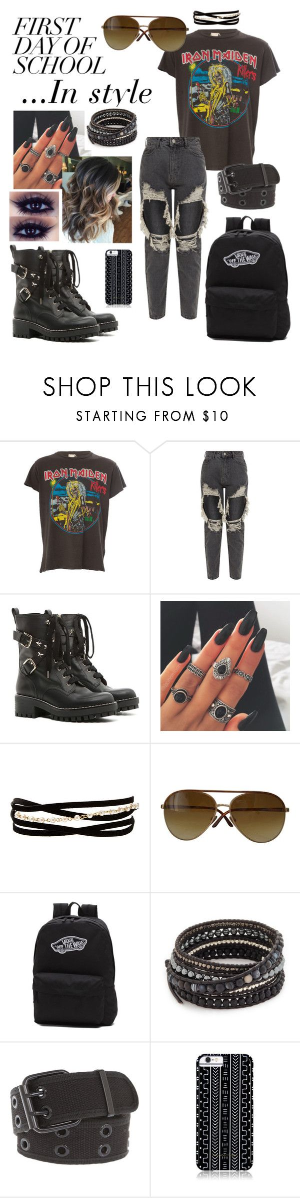 """""""Untitled #340"""" by salute-rock ❤ liked on Polyvore featuring MadeWorn, RED Valentino, Kenneth Jay Lane, Tom Ford, Vans, Chan Luu, Hot Topic and Savannah Hayes"""